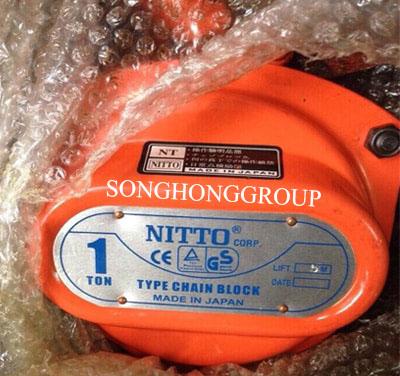 Pa lăng xích kéo tay Nitto